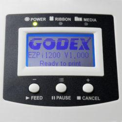 Godex EZPi 1200 - Impresora de Etiquetas Térmicas Directas - Transferencia Térmica