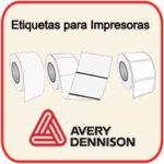 Etiquetas para Impresoras Avery Dennison