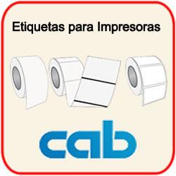 Etiquetas para Impresoras Cab