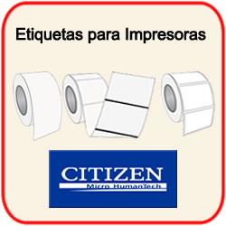 Etiquetas para Impresoras Citizen