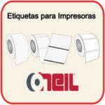 Etiquetas para Impresoras Oneil