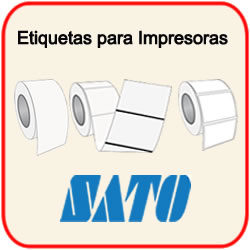 Etiquetas para Impresoras Sato