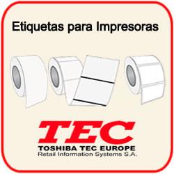 Etiquetas para Impresoras Tec