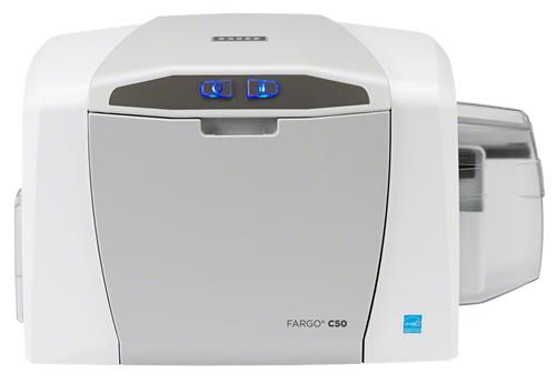 Fargo C50 Impresora de Tarjetas Plásticas PVC Credenciales HID Global 1