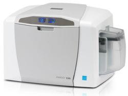 Fargo C50 Impresora de Tarjetas Plásticas PVC Credenciales HID Global