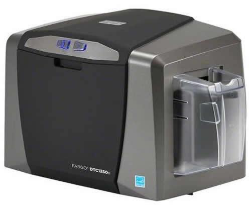 Fargo DTC1250e Impresora de Tarjetas Plásticas PVC Credenciales HID Global 2