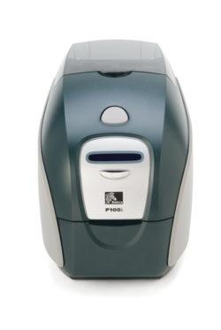 Impresora de tarjetas plásticas Zebra P100i