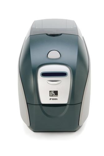 Impresora de tarjetas plásticas Zebra P100i 2