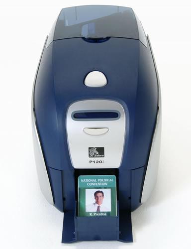 Impresora de Tarjetas plásticas Zebra P120i 3