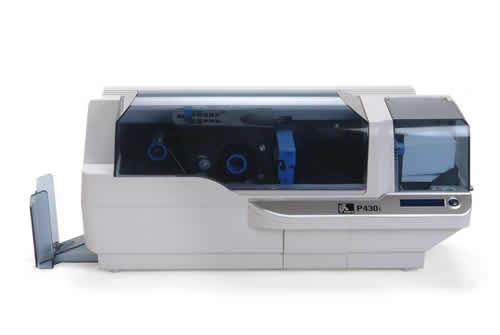 Impresora de Tarjetas plásticas Zebra P430i 3