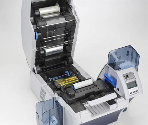 Impresora de Tarjetas plásticas Zebra ZXP8 3