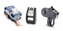 Impresoras etiquetadoras portatiles y manuales