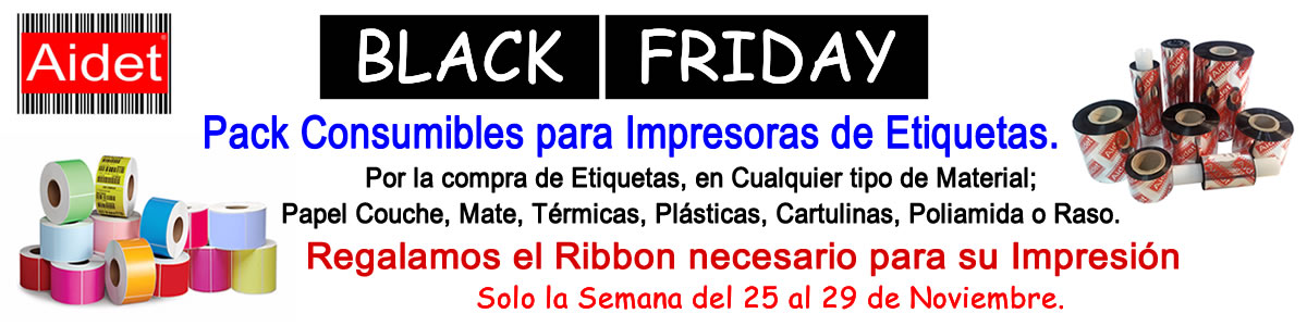 BlackFriday Consumibles Aidet