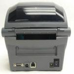 Impresora Zebra GX430t Trasera
