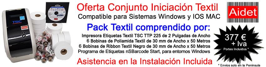 Oferta Kit Textil Iniciacion TSC225