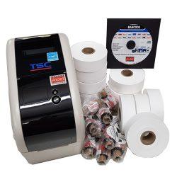 Pack Impresora Etiquetas Textil TSC TTP 225