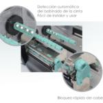 Impresora Godex EZ-6250i Conjunto Ribbon