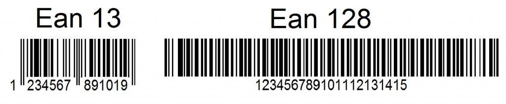 Codigos barras EAN