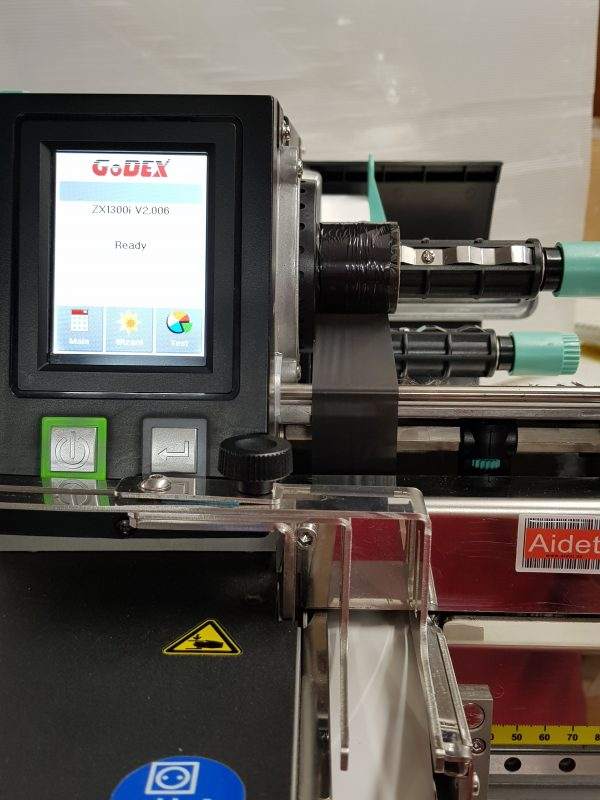 Impresora Textil Industrial Godex ZX-1300i Cutter Apilador